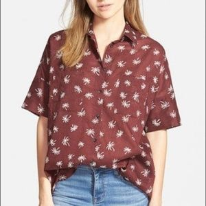 Madewell over sized shirt
